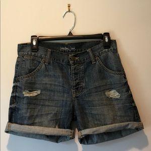 London Jean shorts